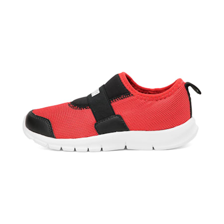 PUMA Flex PS IDP Kid's Sneakers, Peacoat-High Risk Red-White, small-IND
