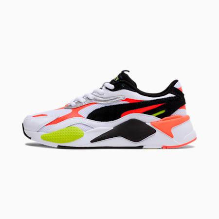 RS-X³ Lava Blast Sneakers, White-Black-Lava Blast, small