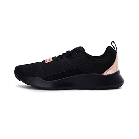 Wired Metallic SoftFoam+ Women's Sneakers, Puma Black-Rose Gold, small-IND