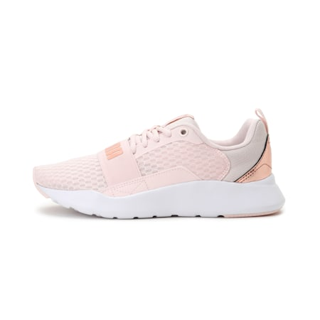 Wired Metallic SoftFoam+ Women's Sneakers, Rosewater-Rose Gold, small-IND