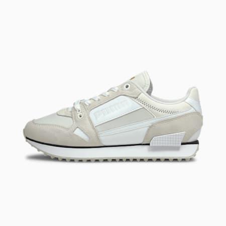 Mile Rider Chrome Desert Women's Sneakers, Puma White, small