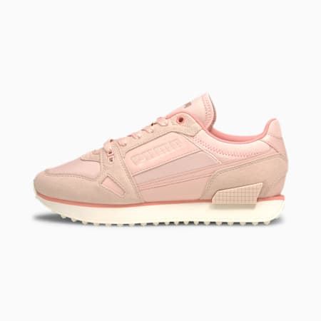 Mile Rider Chrome Desert Women's Trainers, Foxglove-Peachskin, small-GBR