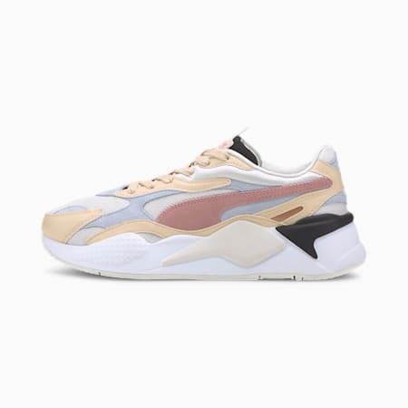 RS-X Layers Women's Sneakers, Marshmallow-Natural Vachetta, small-IND