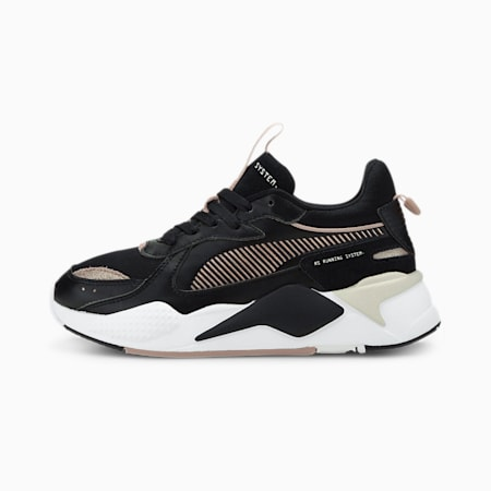 RS-X Mono Metal Women's Sneakers, Puma Black-Rose Gold, small-IND