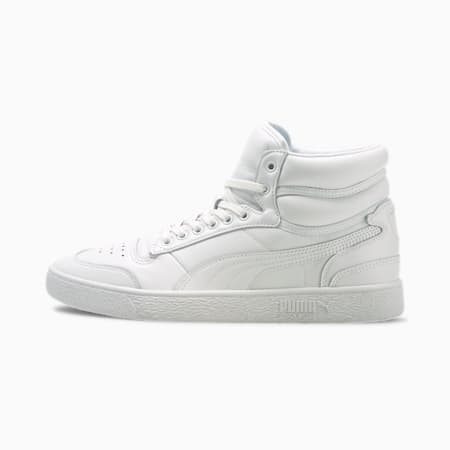 Ralph Sampson Mid Blank Sneakers, Puma White, small