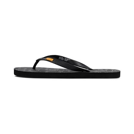 PUMA x one8 Virat Kohli IDP Sandals, Puma Black-Saffron, small-IND