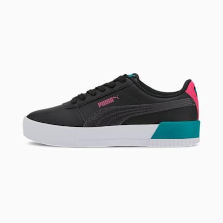 Carina Vivid SoftFoam+ Kid's Sneakers, Puma Black-Puma Black, small-IND