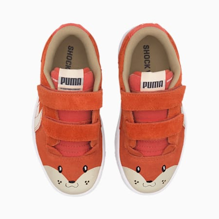Basket Ralph Sampson Animals pour enfant, Paprika-Vaporous Gray, small