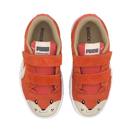 Ralph Sampson Animals Kids' Sneakers, Paprika-Vaporous Gray, small-IND