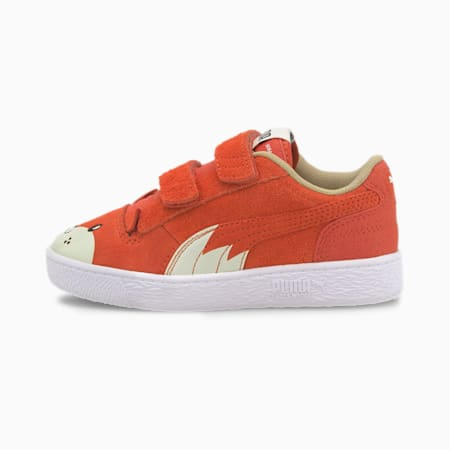 Ralph Sampson Animals Little Kids' Shoes, Paprika-Vaporous Gray, small
