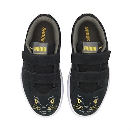 Ralph Sampson Animals sportschoenen voor kinderen, Puma Black-Super Lemon, small