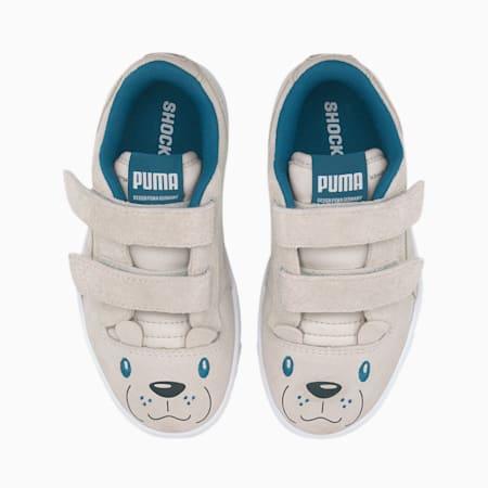 Ralph Sampson Animals Kids' Trainers, Vaporous Gray-Puma White, small