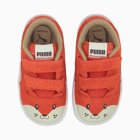 Ralph Sampson Animals V Babies' Trainers, Paprika-Vaporous Gray, small