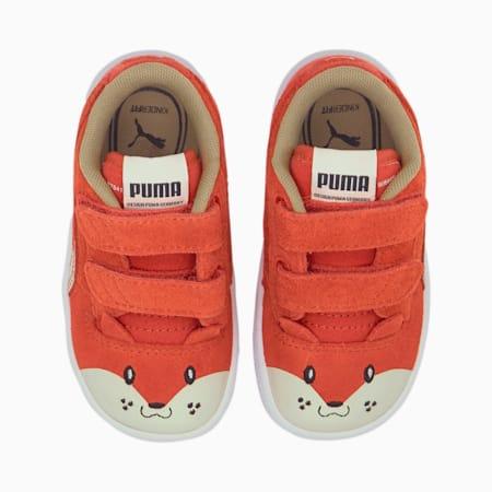 Ralph Sampson Animals V Babies Sneaker, Paprika-Vaporous Gray, small