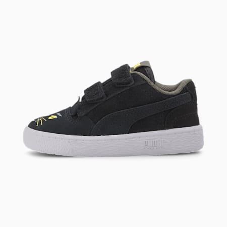 Ralph Sampson Animals Toddler Shoes, Puma Black-Super Lemon, small