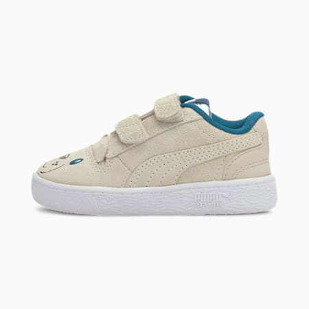 Ralph Sampson Animals V Babies' Trainers, Vaporous Gray-Puma White, small