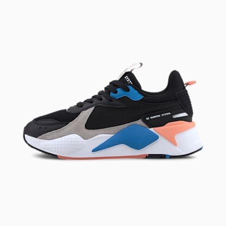 RS-X Monday Kid's Shoes, Puma Black-Dresden Blue, small-IND