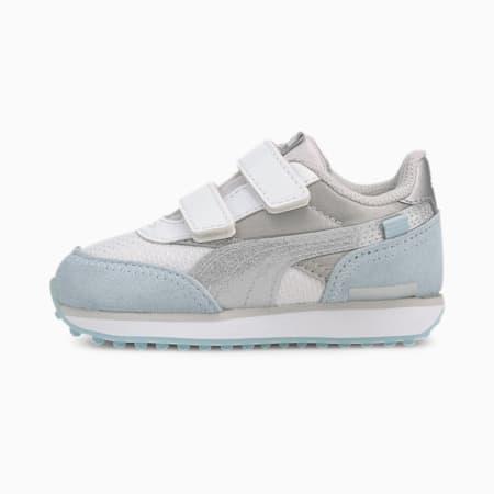 Future Rider Arctic Toddler Shoes, Puma White-Omphalodes, small