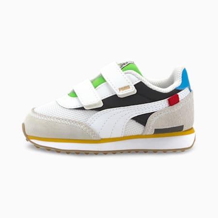 Future Rider WH Toddler Shoes, Puma White-Puma Black, small