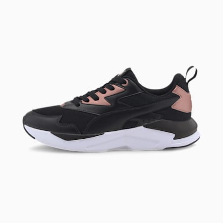 X-Ray Lite Metallic IMEVA SoftFoam+ Women's Shoes, Puma Black-Black-Rose Gold, small-IND