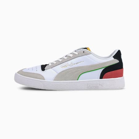 The Unity Collection Ralph Sampson Signature Trainers, P Wht-P Blk-High Risk Red, small