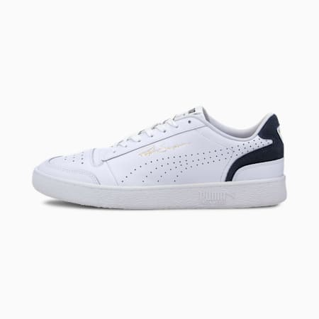 Ralph Sampson Lo Perforated Colour Unisex Sneakers, Puma White-Peacoat, small-IND