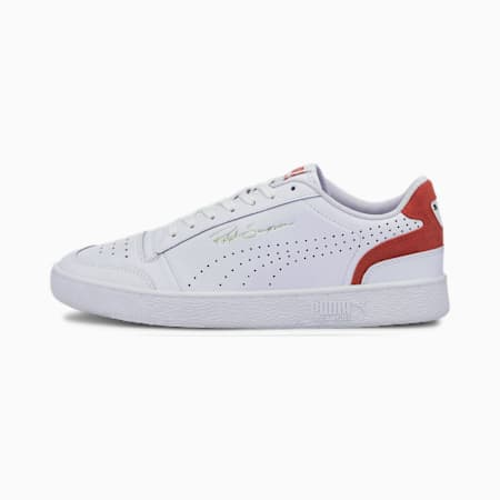 Ralph Sampson Lo Perforated Colour Unisex Sneakers, Puma White-High Risk Red, small-IND