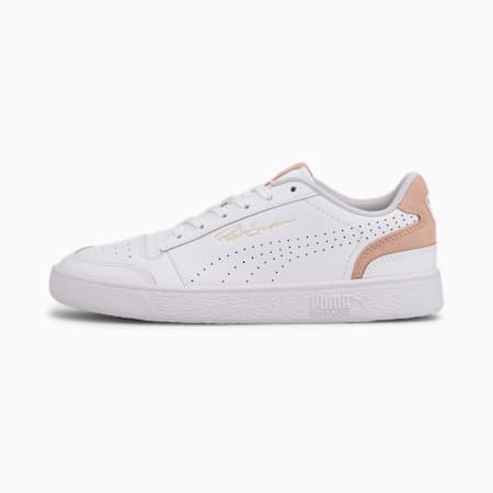 Ralph Sampson Lo Perforated Colour Unisex Sneakers, Puma White-Peachskin, small-IND