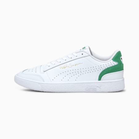 Ralph Sampson Lo Perforated Colour Unisex Sneakers, Puma White-Amazon Green, small-IND