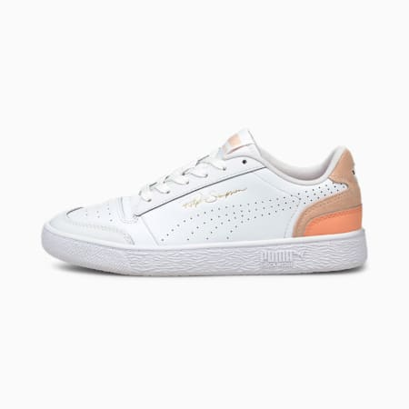 Ralph Sampson Lo Perf Colour Trainers, Puma White-Cloud Pink, small