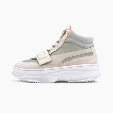 Deva Suede wandelschoenen voor dames, Vaporous Gray-Aqua Gray, small