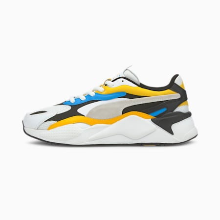 RS-X Prism Trainers, Puma White-Spectra Yellow, small
