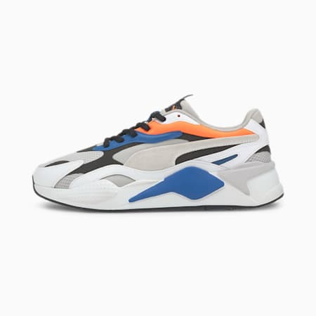 RS-X Prism Shoes, G Violet-PWhite-Ultra Orange, small-IND