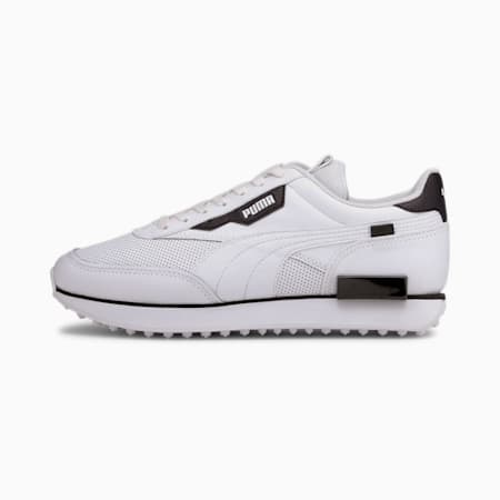 Future Rider Contrast Women's Sneakers, Puma White-Puma Black, small