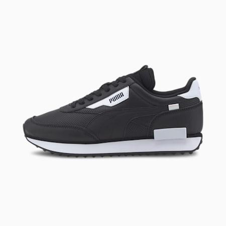 Future Rider Contrast Sneaker, Puma Black-Puma White, small