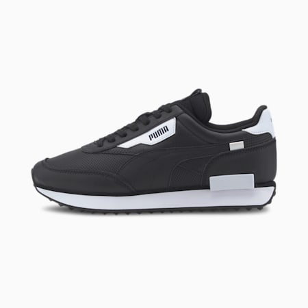 Future Rider Contrast Men's Sneakers, Puma Black-Puma White, small
