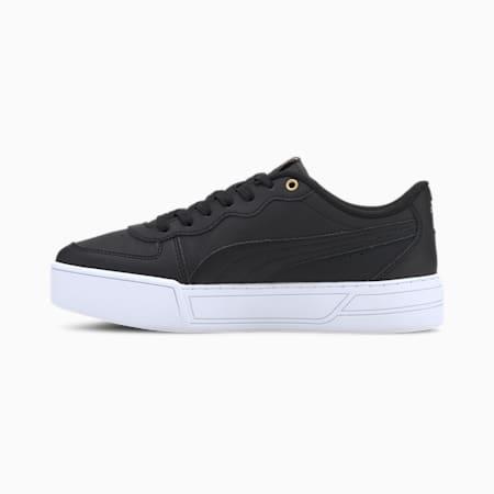 Damskie buty sportowe Skye, Black-Black-Puma Team Gold, small