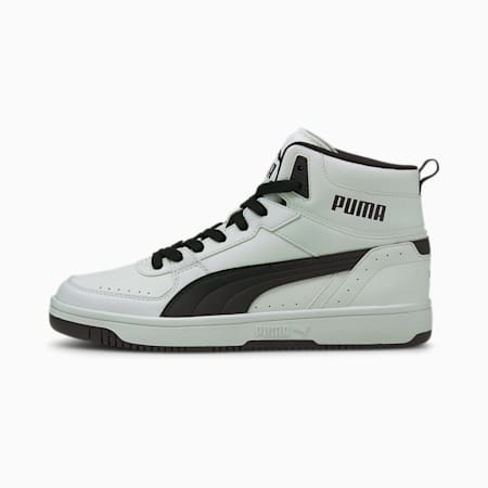 Rebound JOY Sneaker, Puma White-Puma Black, small
