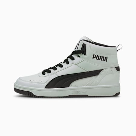 Rebound JOY Trainers, Puma White-Puma Black, small
