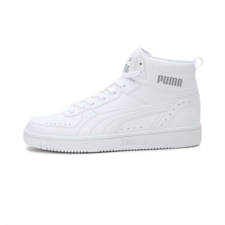 PUMA Rebound JOY SoftFoam+ Unisex Shoes, White-Puma White-Limestone, small-IND