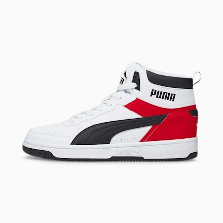 Zapatos deportivos Rebound JOY, Puma White-Puma Black-High Risk Red-Puma White, pequeño