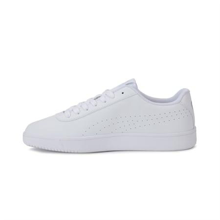 Court Pure SoftFoam+ Unisex Sneakers, Puma White-Puma White-Gray Violet-Puma Silver, small-IND