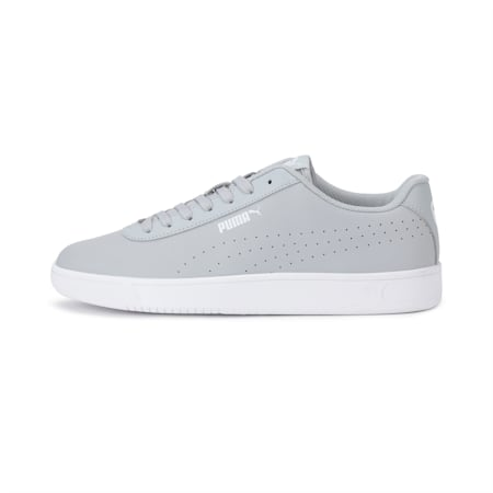 Court Pure SoftFoam+ Unisex Sneakers, High Rise-High Rise-Puma White, small-IND