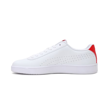 Court Pure SoftFoam+ Unisex Sneakers, White- White-High Risk Red, small-IND