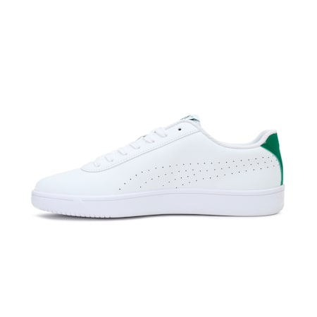 Court Pure SoftFoam+ Unisex Sneakers, White-White-Amazon Green, small-IND