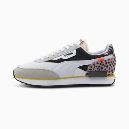 Future Rider Wildcats IMEVA Shoes, Puma White-Puma Black, small-IND