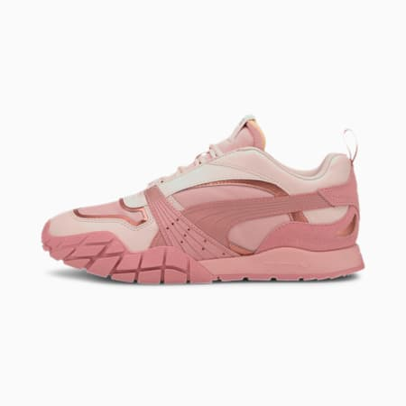 Kyron Poison Flower Women's Sneakers, Bridal Rose-Pastel Parchment, small