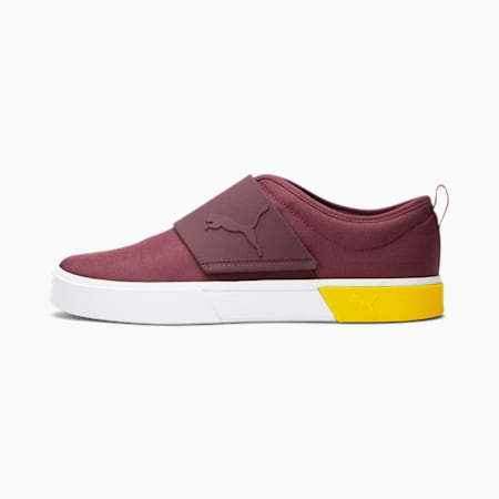 Zapatos sin cordones El Rey II, Burgundy-Puma White-Maize, pequeño