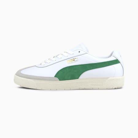 Oslo-City Premium  Sneakers, Puma White-Amazon Green, small-IND