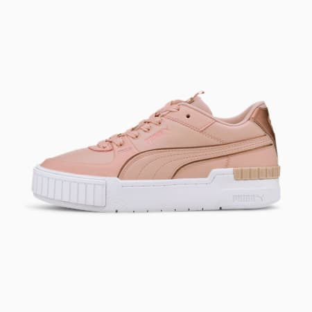 Cali Sport Wabi-Sabi Women's Trainers, Peachskin-Puma White, small